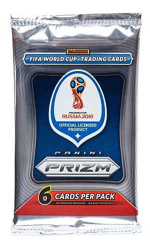 2018 Panini Prizm World Cup Soccer (VM Russia) - Booster Pakke (Booster Pack) *Sjælden*