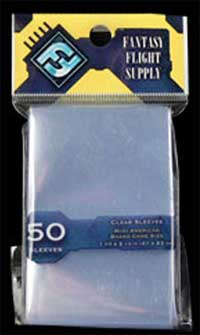 FFG - American Mini Card Sleeves (Yellow Series) - 41x63mm - 50 Lommer - #FFS01