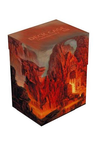 Ultimate Guard Basic Deck Case (Deck Box) 80+ Standard Size Lands Edition Mountain II