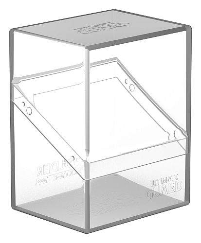 Ultimate Guard Boulder Deck Case (Deck Box) 80+ Standard Size Clear (Gennemsigtig/Transparent)