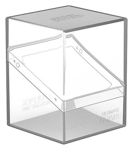 Ultimate Guard Boulder Deck Case (Deck Box) 100+ Standard Size Clear (Gennemsigtig/Transparent)