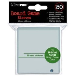 Ultra Pro - Special Card Sleeves (Green Code) - 69x69mm - 50 Lommer - #82659