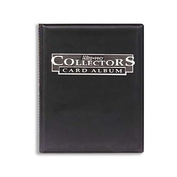 Mappe - Ultra Pro 9x10 Collectors Album - 9-Pocket (Holder 180 kort) UltraPro - Sort #81366