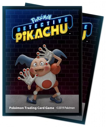Pokemon - Detective Pikachu: Mr. Mime - Deck Protector - 65 lommer - Ultra Pro Sleeves #15202