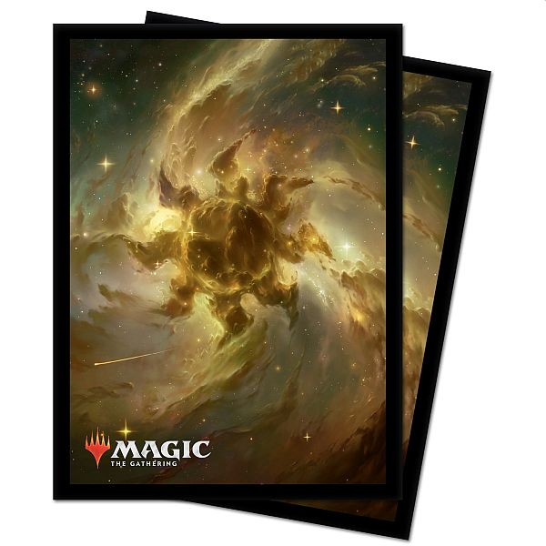 100 Lommer! Theros Beyond Death (Celestial Constellation) - Plains - Matte Deck Protector Sleeves - Ultra Pro #18284