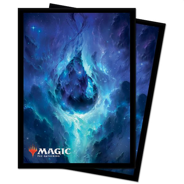 100 Lommer! Theros Beyond Death (Celestial Constellation) - Island - Matte Deck Protector Sleeves - Ultra Pro #18285