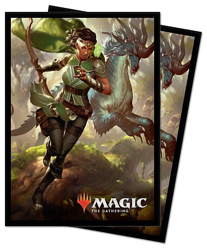 100 Lommer! Ikoria: Lair of Behemoths: V2 - Vivien, Monster's Advocate - Matte Deck Protector Sleeves - Ultra Pro #18303