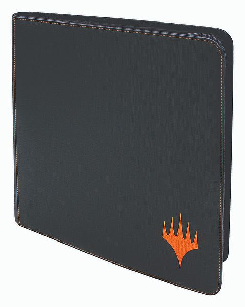 Mappe - Zippered Premium Playset Pro-Binder: Mythic Edition (Orange Planeswalker Logo) - 24x20 (Plads til 480 kort) - Ultra Pro #18343