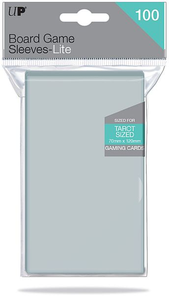 Ultra Pro - Lite Tarot Card Sleeves - 70x120mm - 100 Lommer - #85947