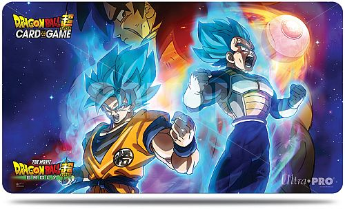 Spillemåtte (Playmat) - Dragon Ball Super - Vegeta, Goku, and Broly - Ultra Pro #85983
