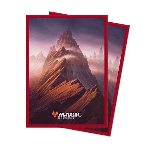 100 lommer! Unstable Lands: Mountain - Deck Protector Sleeves - Ultra Pro #86817