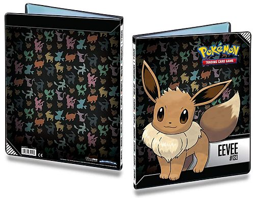 !Super Tilbud Mappe - Pokemon - Eevee - Album - 9-Pocket (Holder 180 kort) UltraPro #84919