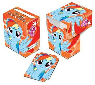 Deck Box - My Little Pony: Rainbow Dash 2 Full-View - Ultra Pro #84343 *UDSOGT*