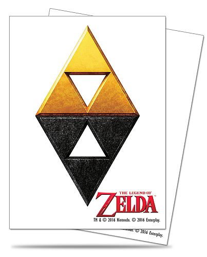 65 lommer! The Legend of Zelda - Tri-Force Deck Protector Sleeves - Ultra Pro #85209