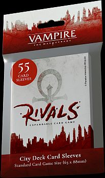 55 lommer - Vampire: The Masquerade - Rivals - City Deck - Sleeves